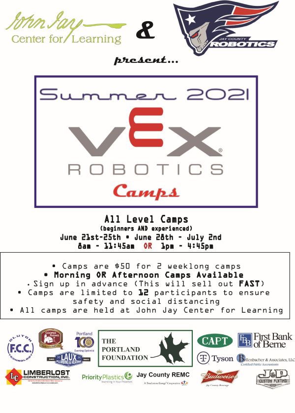 Summer 2021 VEX Robotics