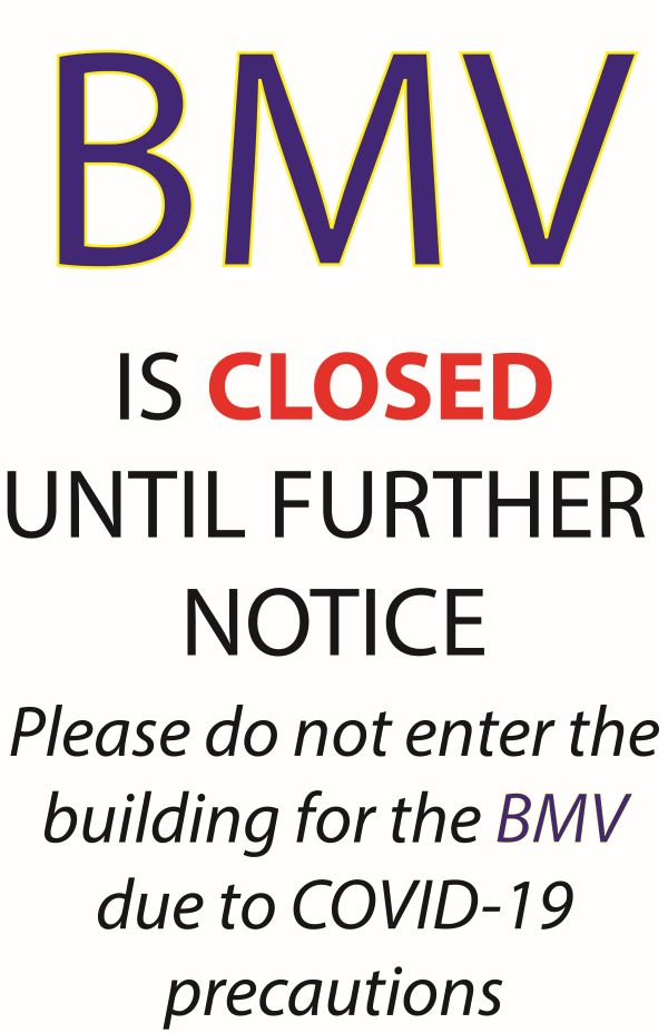 Portland BMV Closed