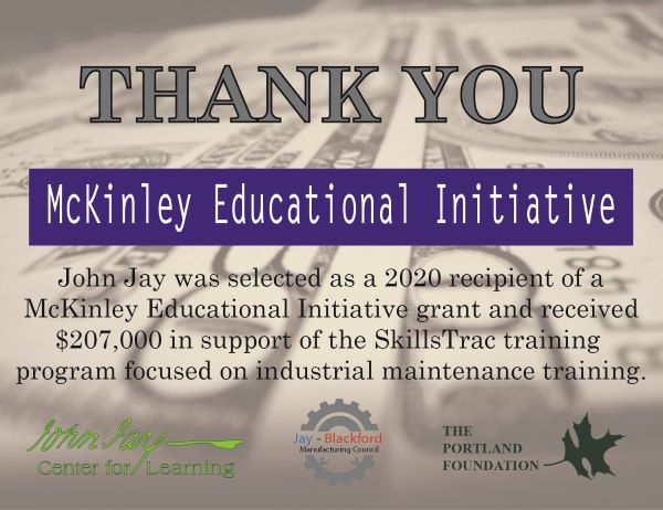 Thank You! McKinley Educational Initiative